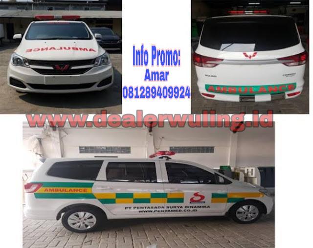 Harga Mobil Wuling Ambulan