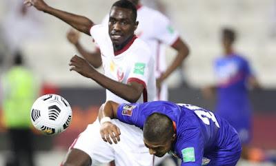 ملخص هدف فوز قطر علي الهند (1-0) تصفيات كأس العالم