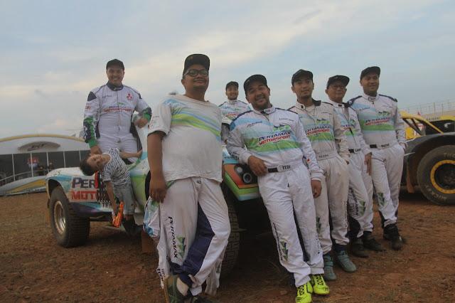 Offroader Pertamax Motorsport Team Tampil Maksimal di IXSOR seri-4