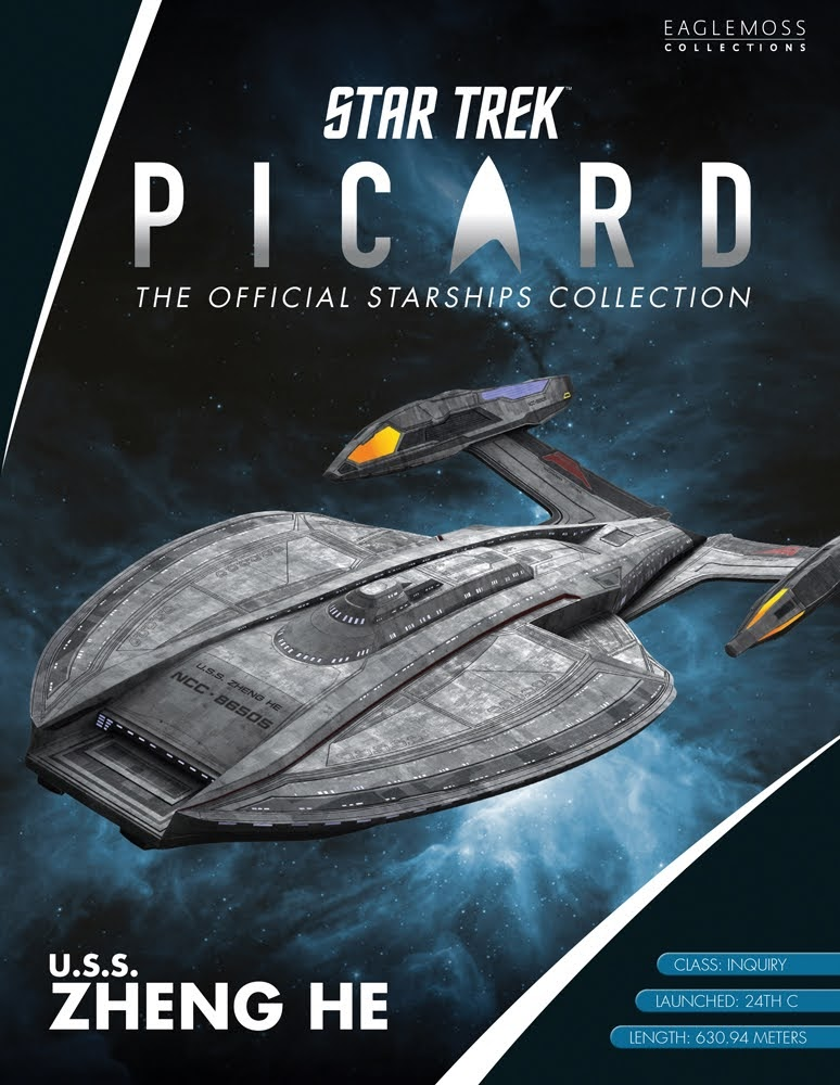 The Official Star Trek Picard Collection La Sirena Starship with ...