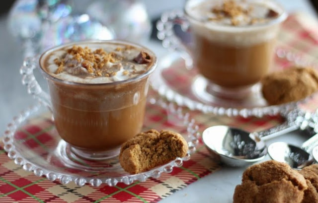 Gingerbread Latte #drinks #latte