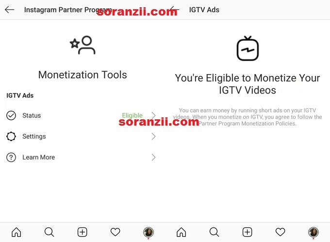 IGTV ile instagram'dan nasıl para kazanyı aktif etmek