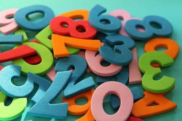 الأرقام في اللغة الإنجليزية