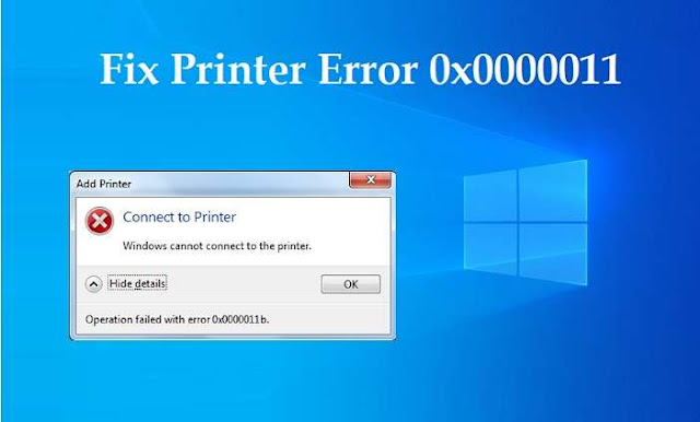 How to fix network printing error 0x0000011b in Windows