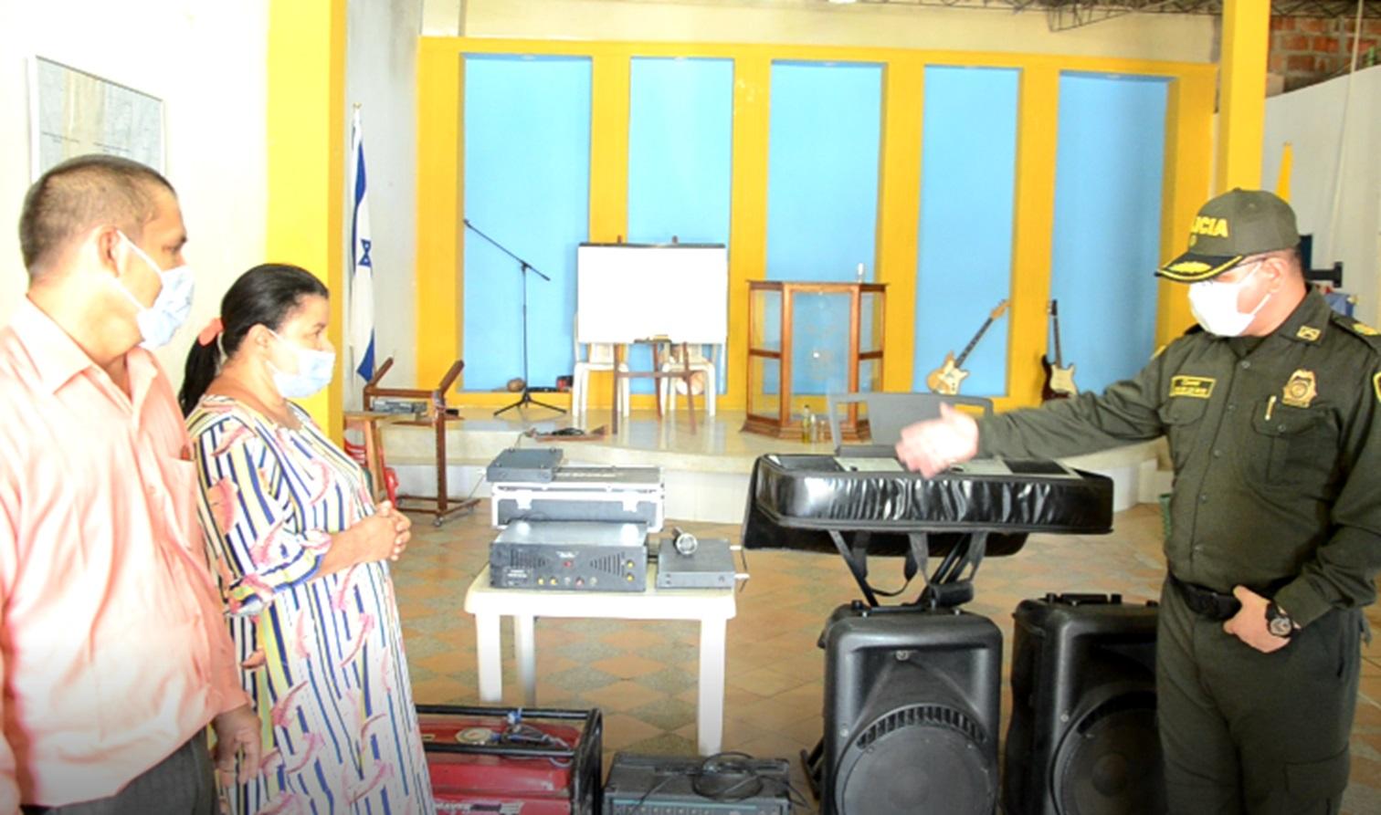 hoyennoticia.com, Recuperan elementos robados en una iglesia de Valledupar