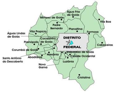 Brasília é cercada por cinturão de pobreza, apesar de dinamismo econômico da região