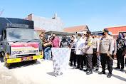 Kapolda Sulsel Lepas 30 Ton Beras Bantuan Polri di Sidrap untuk Masyarakat Luwu Utara Terdampak Bencana Banjir