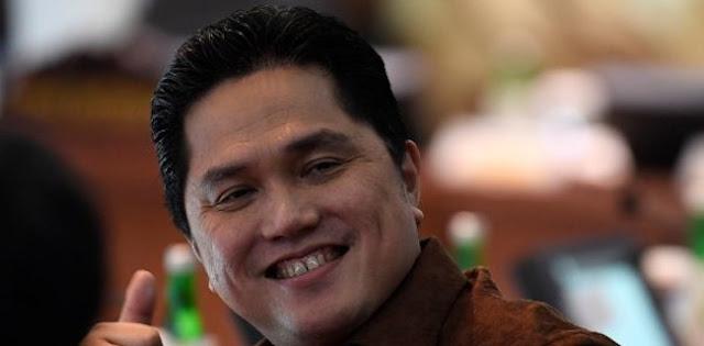 Balad Jokowi Apresiasi Terobosan Erick Thohir Perbaiki BUMN