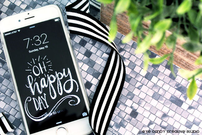 black & white cell phone wallpaper download, chalkboard lettering