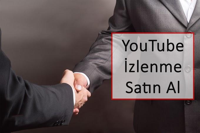 YouTube İzlenme Satın Al 2020