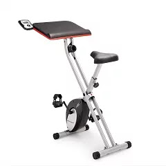 Marcy Foldable Exercise Bike with Table