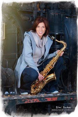 Silja Nieminen, train and the saxophone