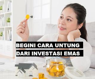 5 Cara Mendapatkan Keuntungan dari Investasi Emas