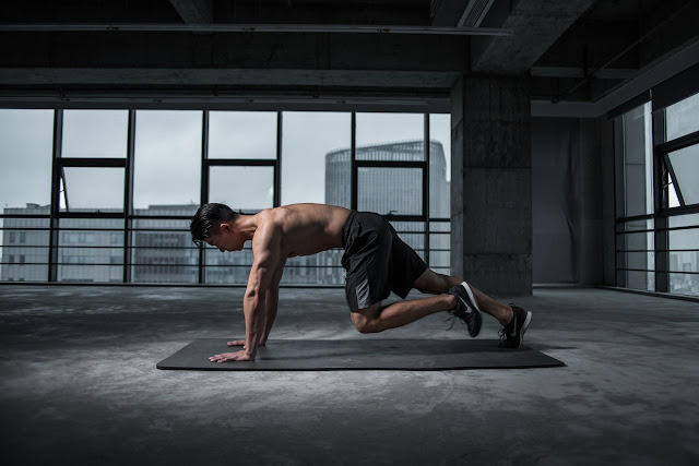Mountain Climbing Exercise for weight reduction