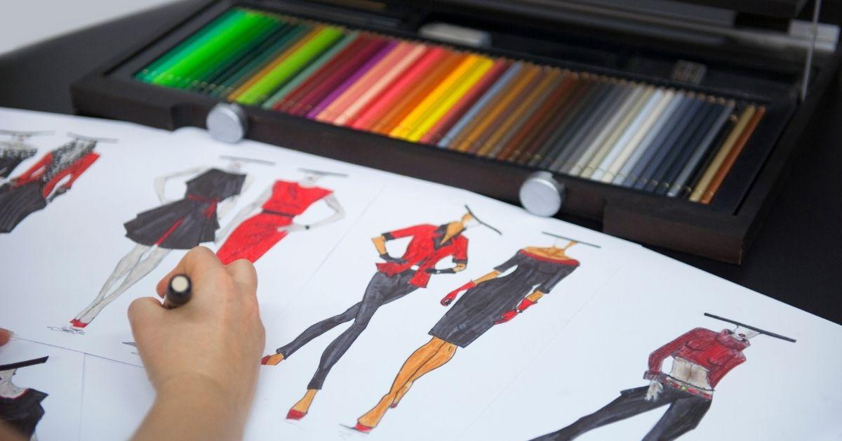 تعليم رسم الأزياء خطوة بخطوة