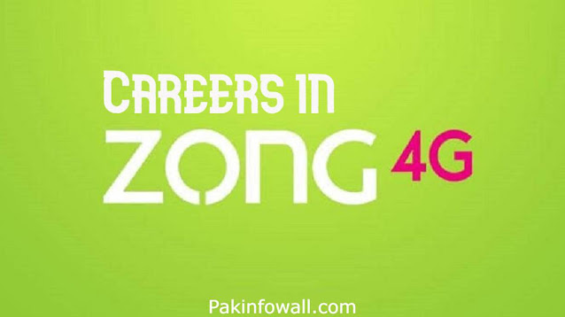 Careers in Zong 2021 | Zong Call Center Jobs