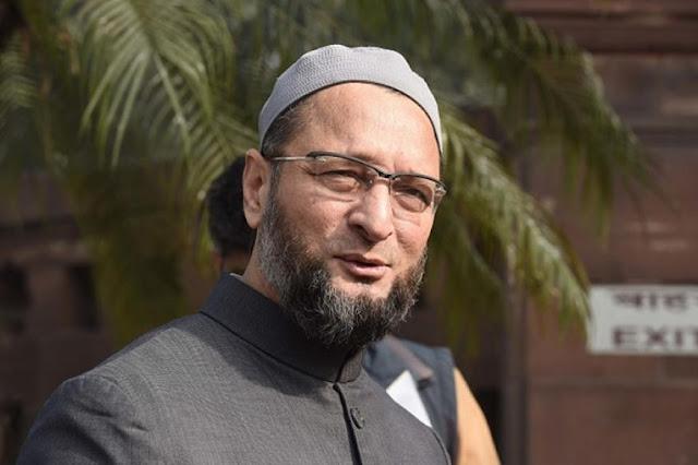 शपथ लेते वक्त लगा जय श्री राम का नारा तो ओवैसी ने कहा अल्लाह-ओ-अकबर - newsonfloor.com