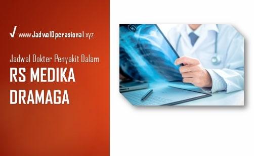 Jadwal Dokter Penyakit Dalam RS Medika Dramaga