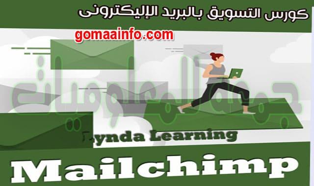 كورس التسويق بالبريد الإليكترونى  Lynda Learning Mailchimp
