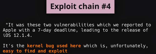 The Fouth exploits chains