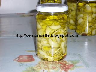 Zucchine piccanti sott'olio