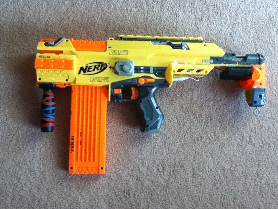 Outback Nerf Nerf Stampede Ecs Smg War Review