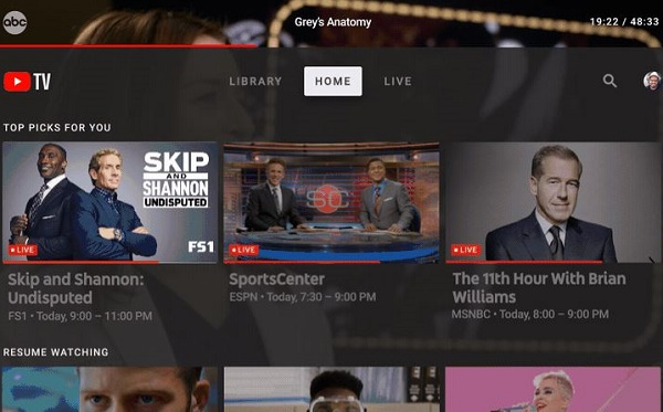 Google announces YouTube TV app for Android TV, Apple TV, Smart TVs and Xbox One