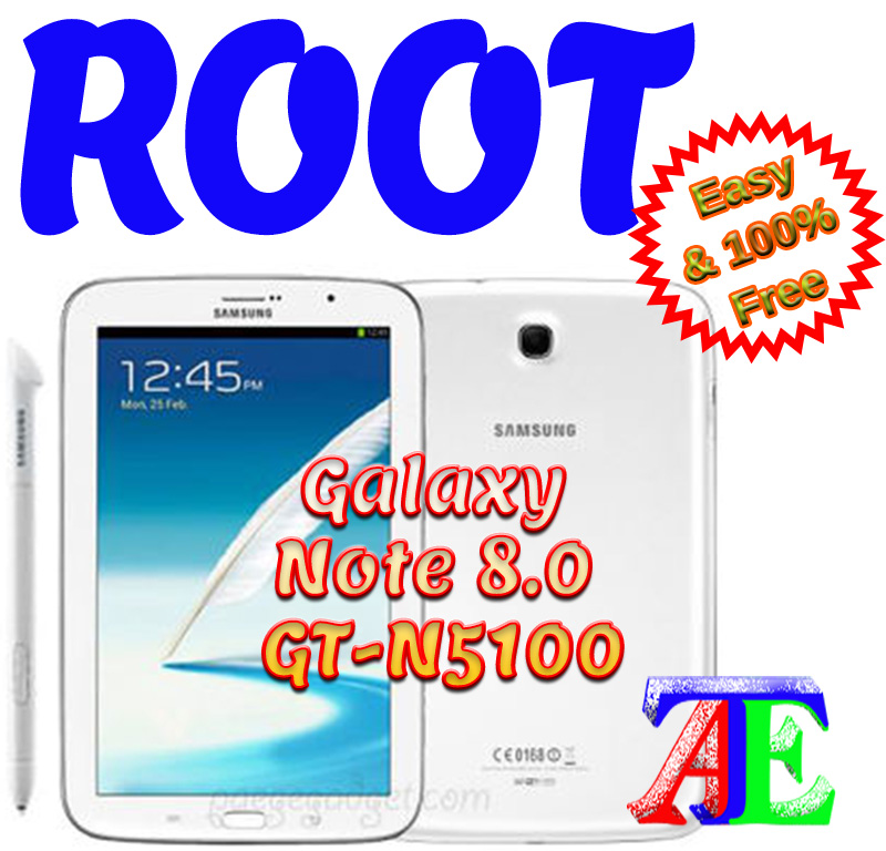 How to Root Samsung Galaxy Note 8 0 GT-N5100 V  4 4 2 NH3 KitKat