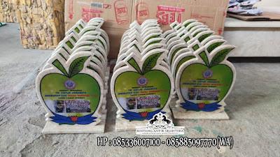 Vandel Marmer Putih, Plakat Vandel Marmer Tulungagung, Vandel Marmer Tulungagung
