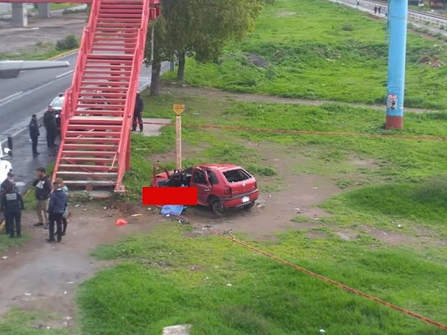 ÚLTIMA HORA. Una chica muerta y 3 jóvenes heridos deja accidente en Ecatepec