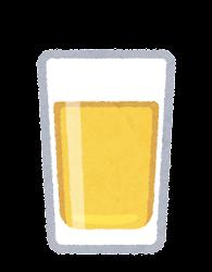 ウイスキーのイラスト(ストレート)