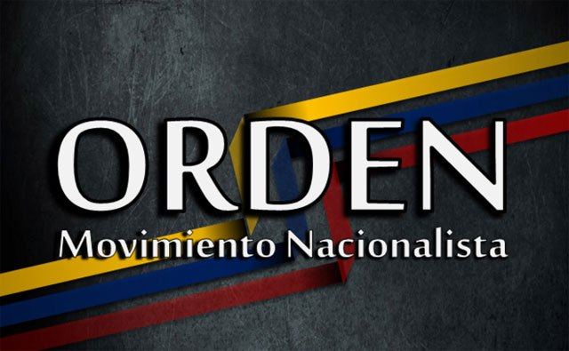 Movimiento nacionalista ORDEN reconoce a Juan Guiadó como Presidente de Venezuela.