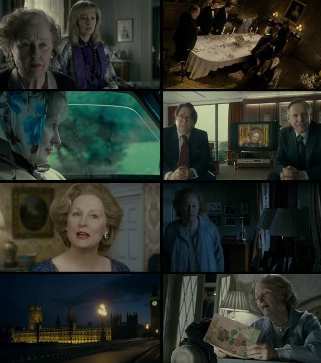 The Iron Lady 2011 Dual Audio Hindi 720p BluRay 800mb