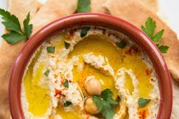 ★★★★★     Easy Homemade Hummus