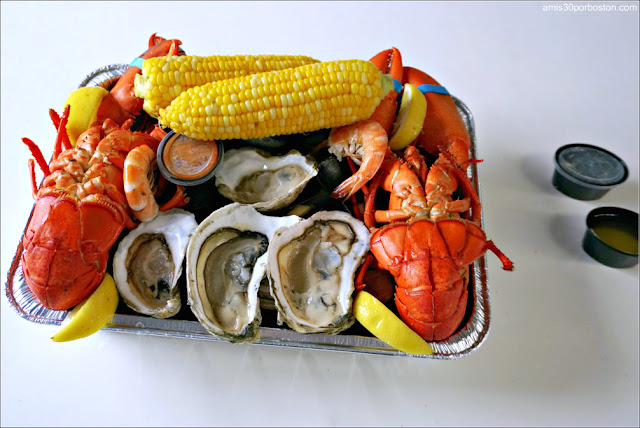 New England Clam Boil en Maine