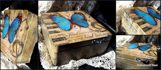 Motyl – przyjaciel, który  śpiewa  muzykę serca