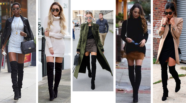 Como Usar: Botas Over The Kness
