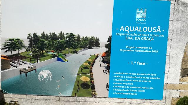 Aqualousã - requalificação da Praia Fluvial da Senhora da Graça - Projeto vencedor