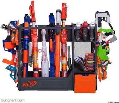 Giá để súng đạn Nerf