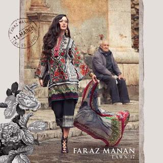 Faraz manan bohemian bohochic spring summer collection 2017