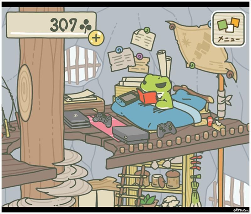 旅行青蛙 (旅かえる) 附中文圖解   電玩   365-46