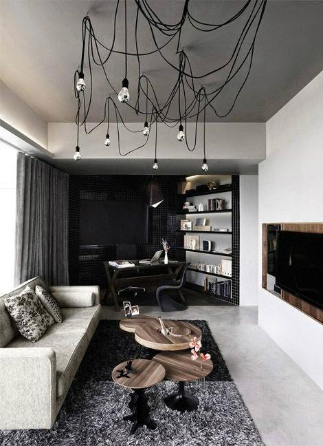 Men's Home: The Living Room!