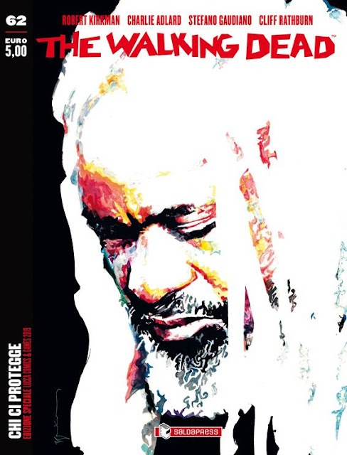 "The Walking Dead #32 ""Chi ci protegge"" (variant di Bill Sienkiewicz)"