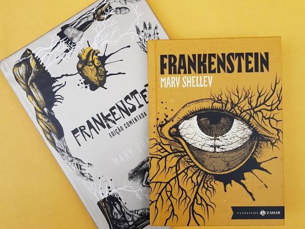 Edição de luxo Frankenstein - Editora Zahar [Lançamento]