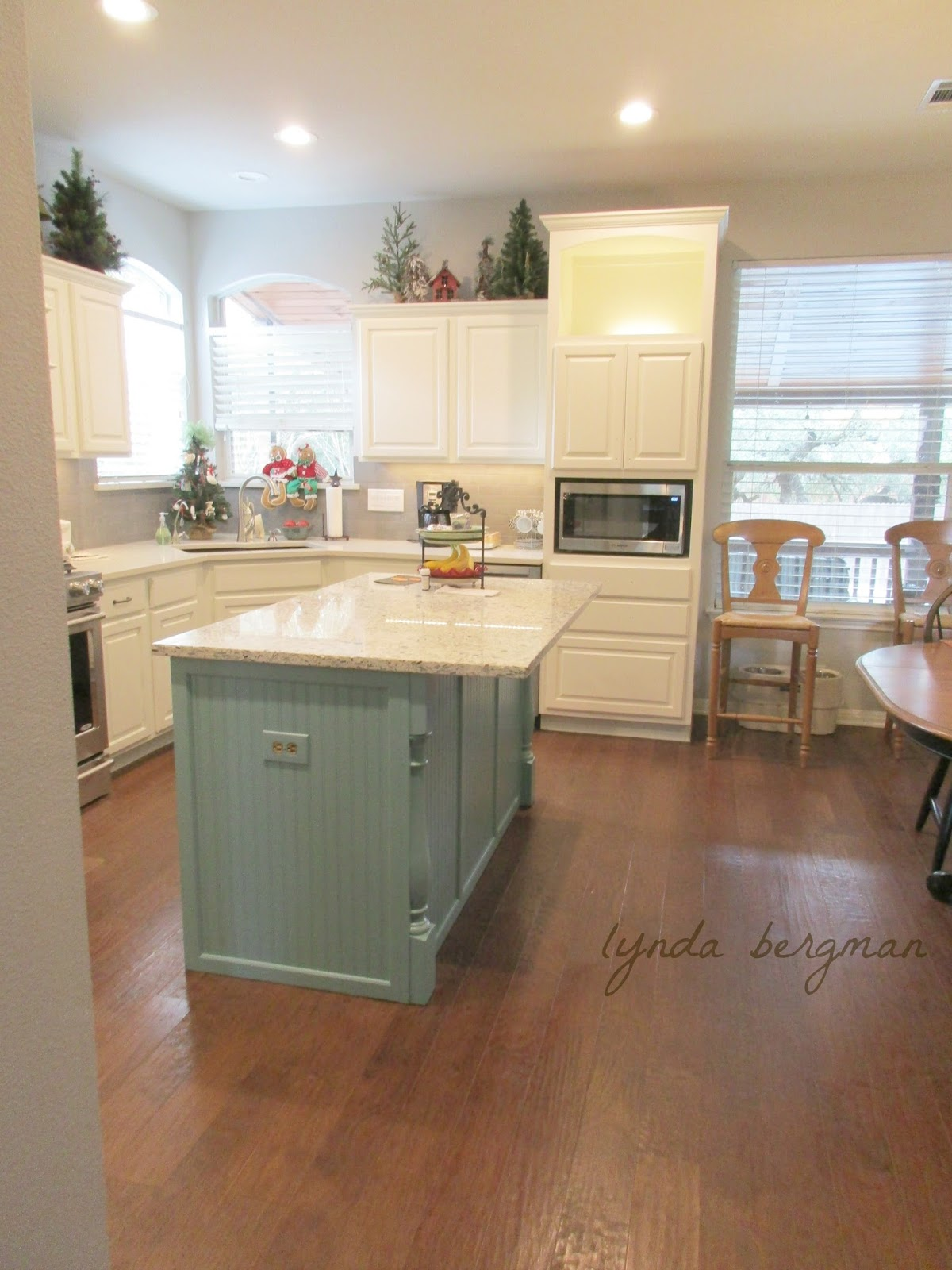 LYNDA BERGMAN DECORATIVE ARTISAN: KITCHEN REMODEL