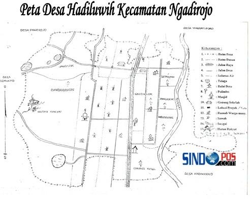Profil Desa & Kelurahan, Desa Hadiluwih Kecamatan Ngadirojo Kabupaten Pacitan