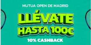 Mondobets promo Mutua Madrid Open 3-9 mayo 2021