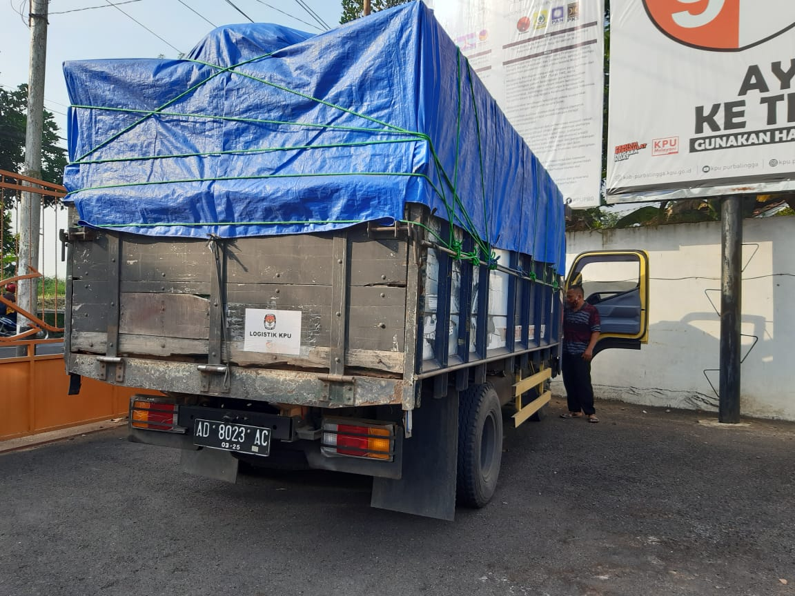 Kesiapan Logistik Pilbup Purbalingga