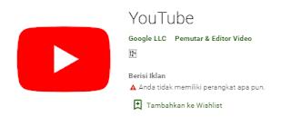 Youtube Blank Layar Hitam