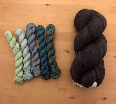 hanks of yarn for knitting or crochet